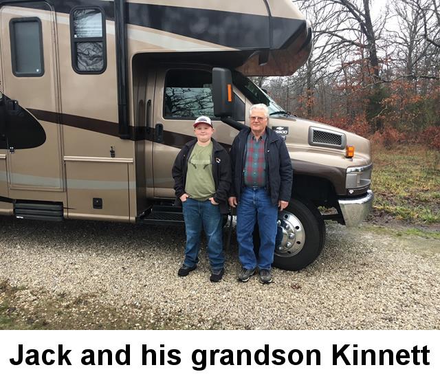 Jack Kinnett and Grandson